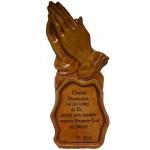 Gravură mâini în rugă - Cântaţi Domnului voi cei iubiţi de El,....