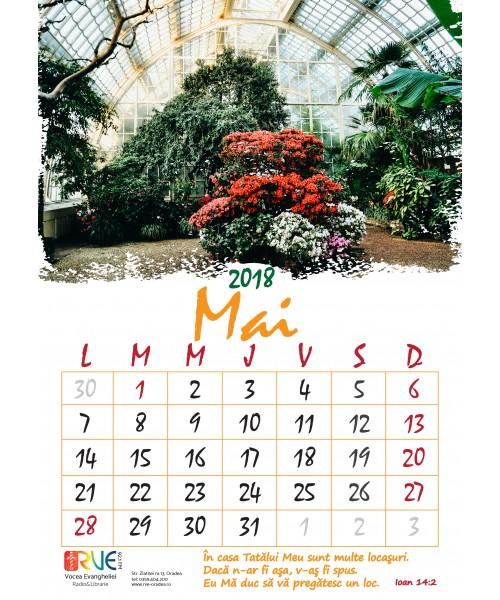 Calendar Mai : Calendar a de perete cu imagini