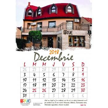 Calendar 2018 A4 de perete cu imagini