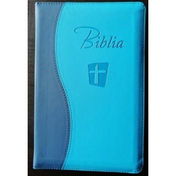Biblia NTR SBIR albastru