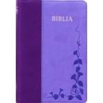 Biblia SBIR (Albastru/Mov, cu fermoar)
