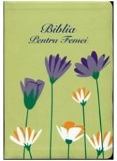Biblia pentru femei Verde Floral MARE