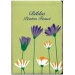 Biblia pentru femei Verde Floral MICĂ