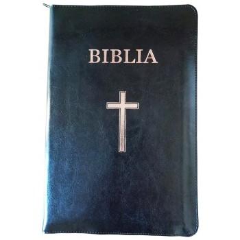 Biblie mare aurita pe margine, cu index si fermoar - Versiunea CORNILESCU. Ediţia standard revizuită. SBIR