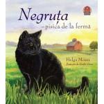 Negruța - pisica de la fermă  Helga Moser