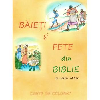 Baieti si fete, carte de colorat - Lester Miller