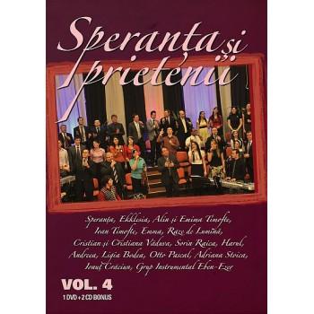 Speranţa şi Prietenii vol.4, dvd+2cd